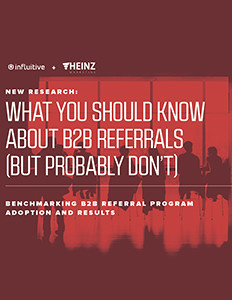 New research: Formal referral programs lead to higher sales, faster